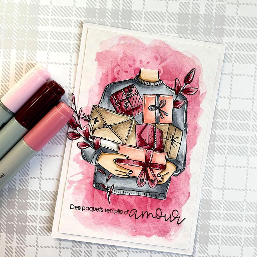 Tampons Cling Des paquets - 2 pcs