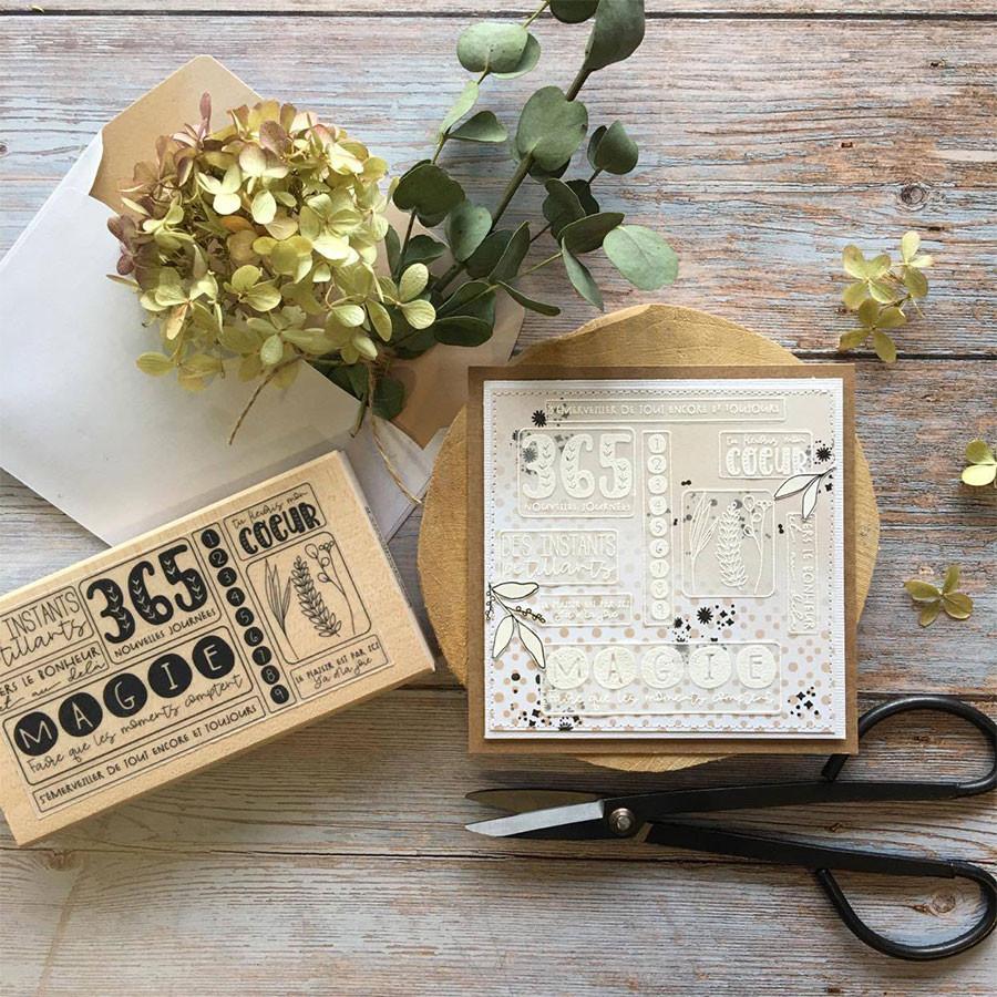Papiers calques assortis Esprit Cottage - A4