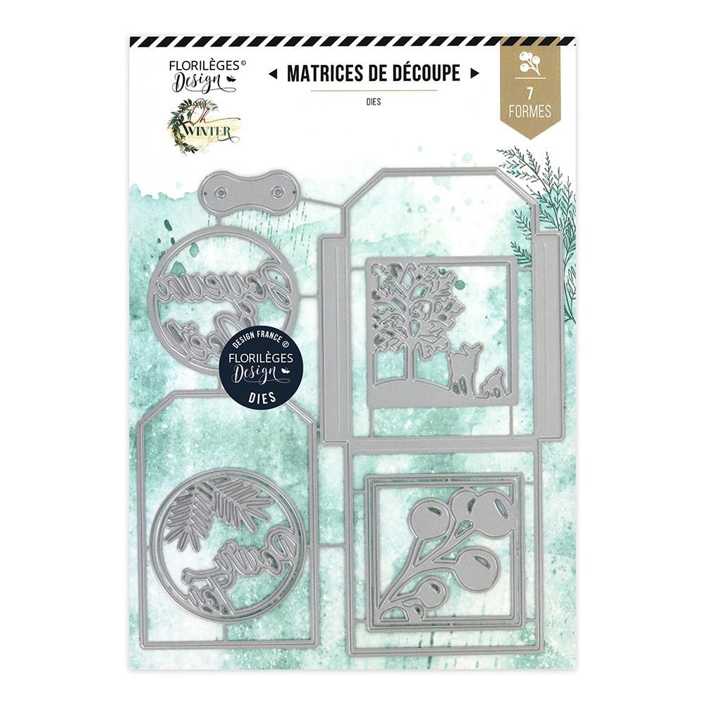 Die Set Pochette d'hiver - 7 pcs