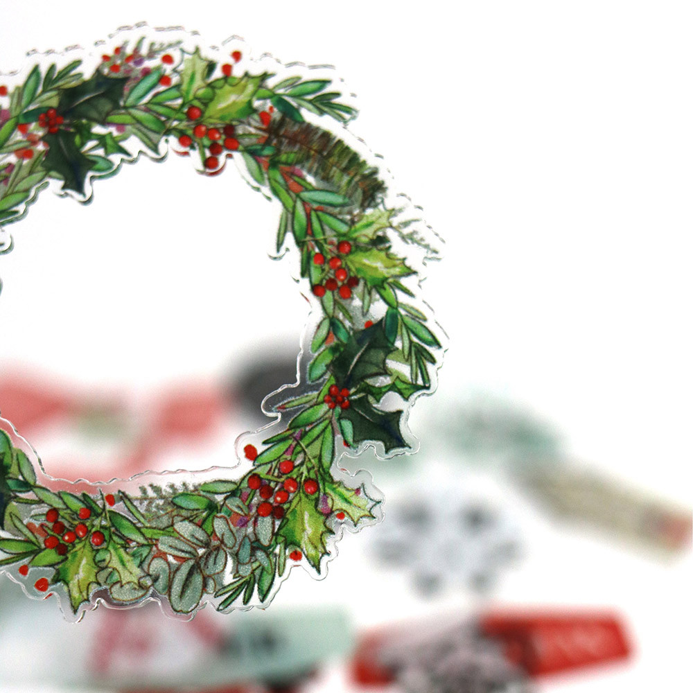 Décos Oh Winter - 20 embellissements acryliques