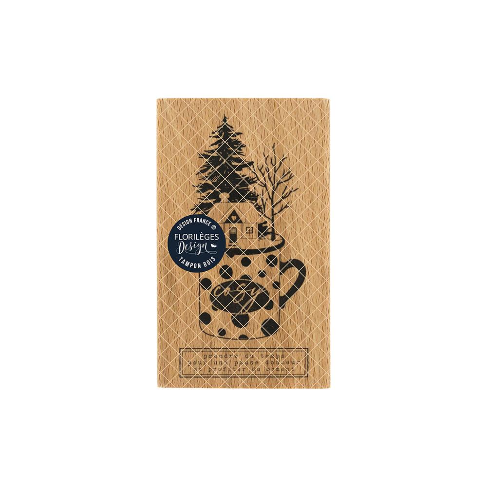 Tampon bois Mug cosy - 6 x 10 cm