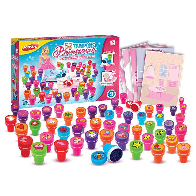 Tampons Princesses 52 pièces