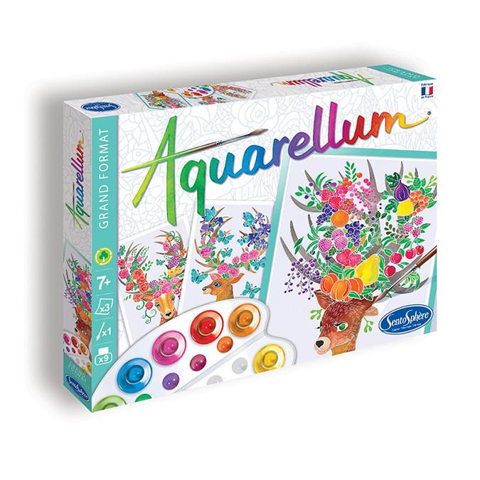 Aquarellum coffret Cerfs Enchantés
