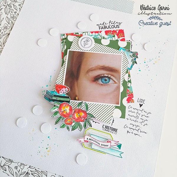 Sweet Story Kit de collection 30 x 30 cm
