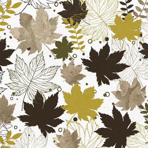 Fallen Leaves Papier Crunchy Leaves