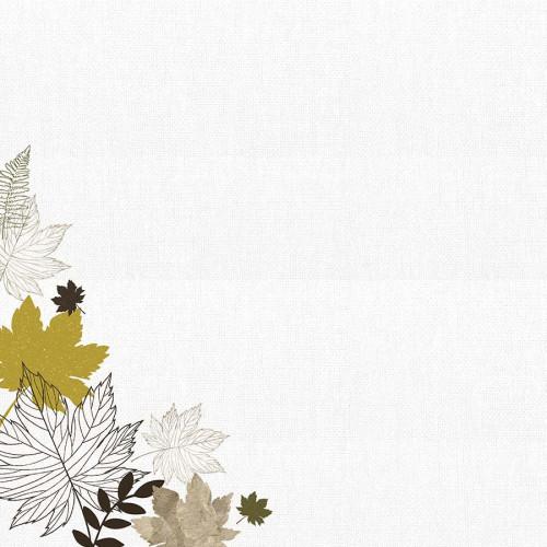 Fallen Leaves Papier Warm Breeze