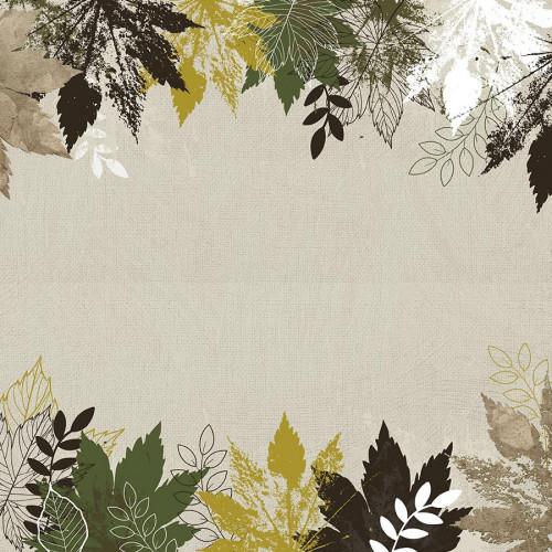 Fallen Leaves Papier Morning Dew