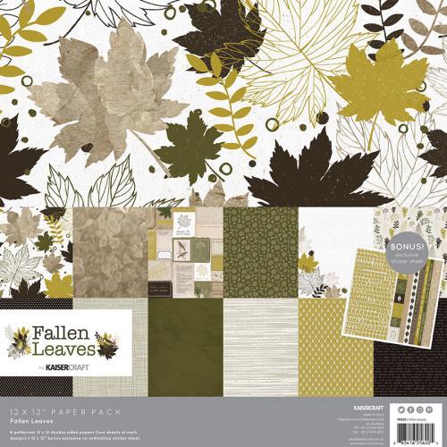 Fallen Leaves Kit de collection 30 x 30 cm