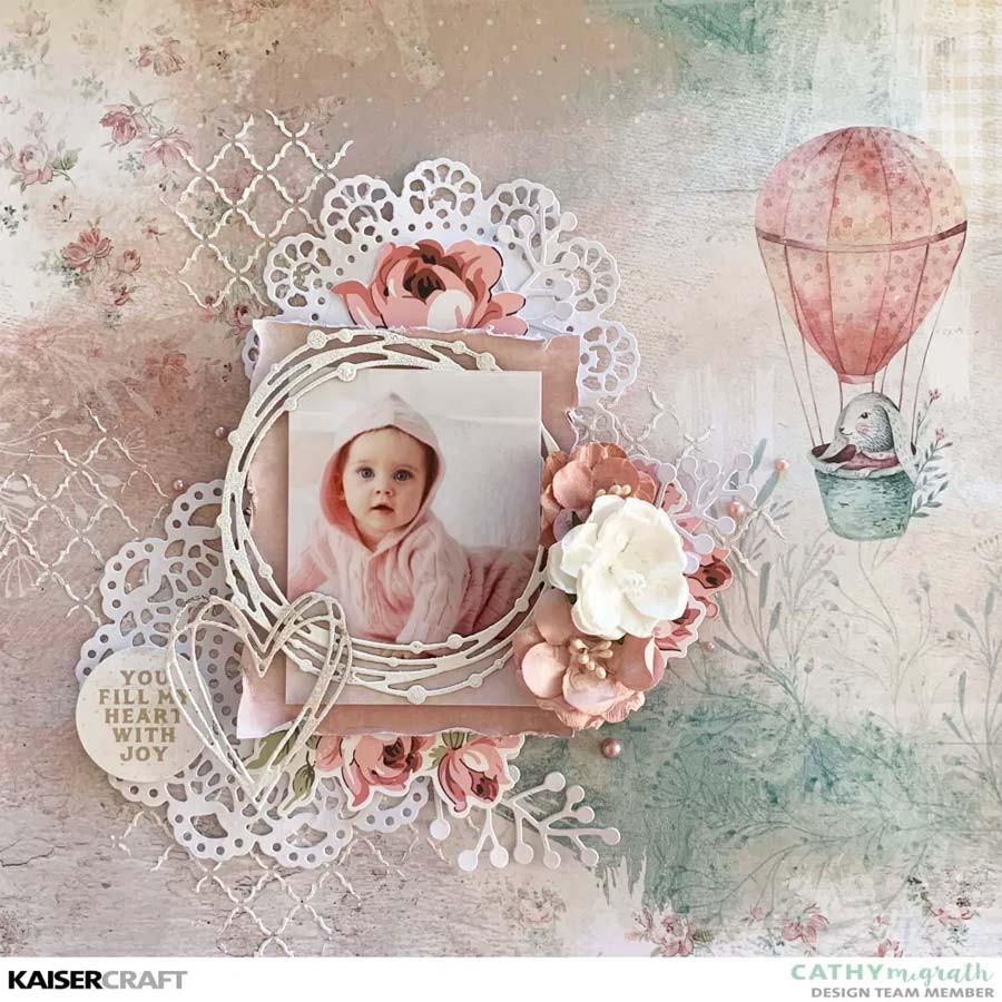 Perles adhésives rose pâle - 50 pcs