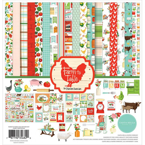 Farm to Table Kit de collection 30 x 30 cm