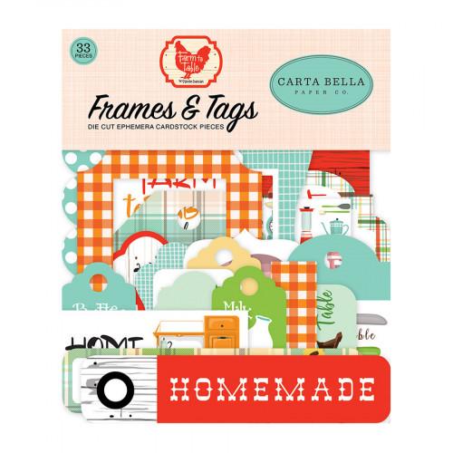 Farm to Table Formes découpées Ephemera #2