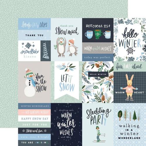 Winter Market Papier 3X4 Journaling Cards