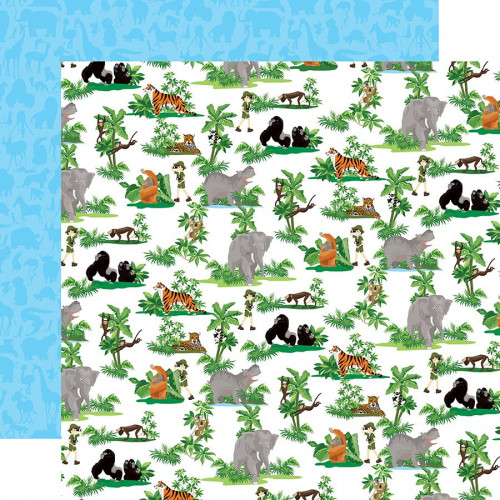 Zoo Adventure Papier Jungle Animals