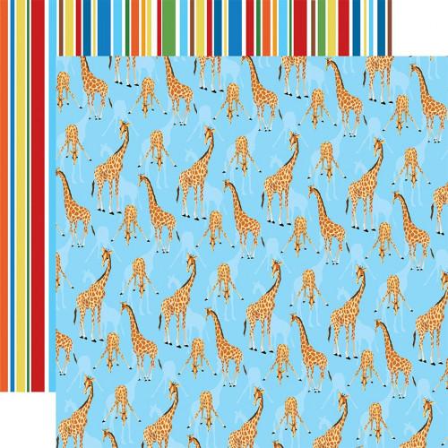 Zoo Adventure Papier Giraffes