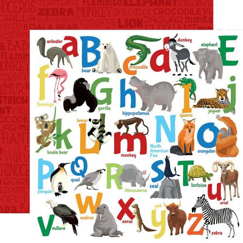 Zoo Adventure Papier Animal Alphabet