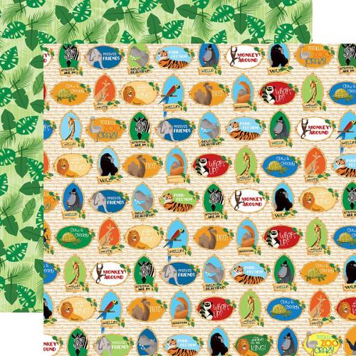 Zoo Adventure Papier Zoo Crew