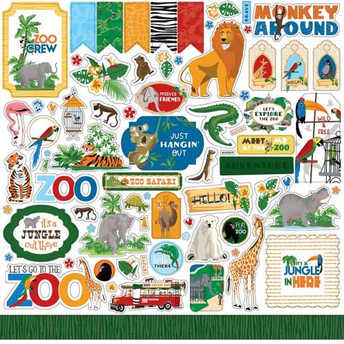 Zoo Adventure Stickers
