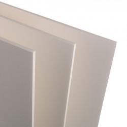 Carton mousse blanc