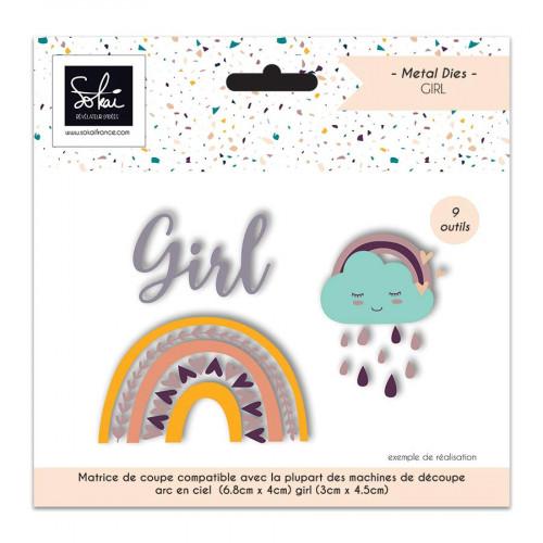 Die Set So'BB Girl - 3 pcs
