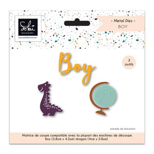 Die Set So'BB Boy - 3 pcs
