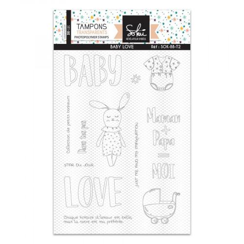 Tampons transparents Baby Love - 10 pcs