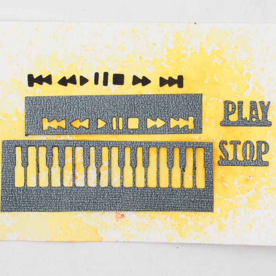 Die Set Muzik - 4 pcs