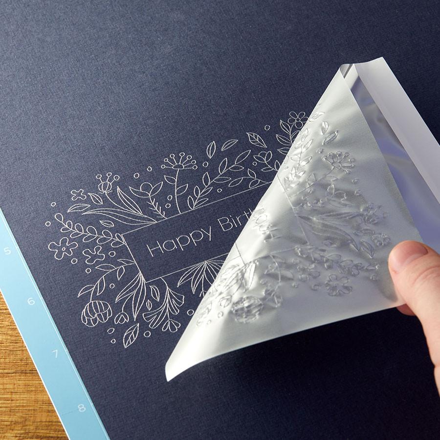 Cricut Foil Transfer Assortiment Metallic 10 x 15 cm - 24 feuilles
