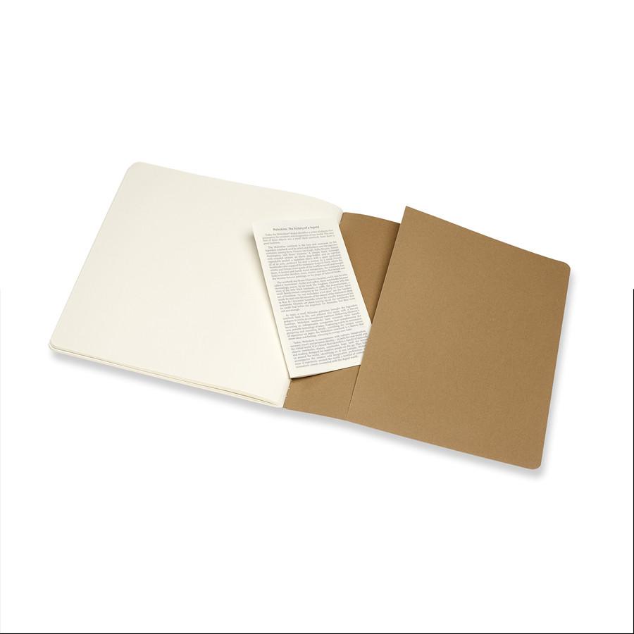 Album pour croquis Kraft papier ivoire 120 g/m² - 19 x 19 cm
