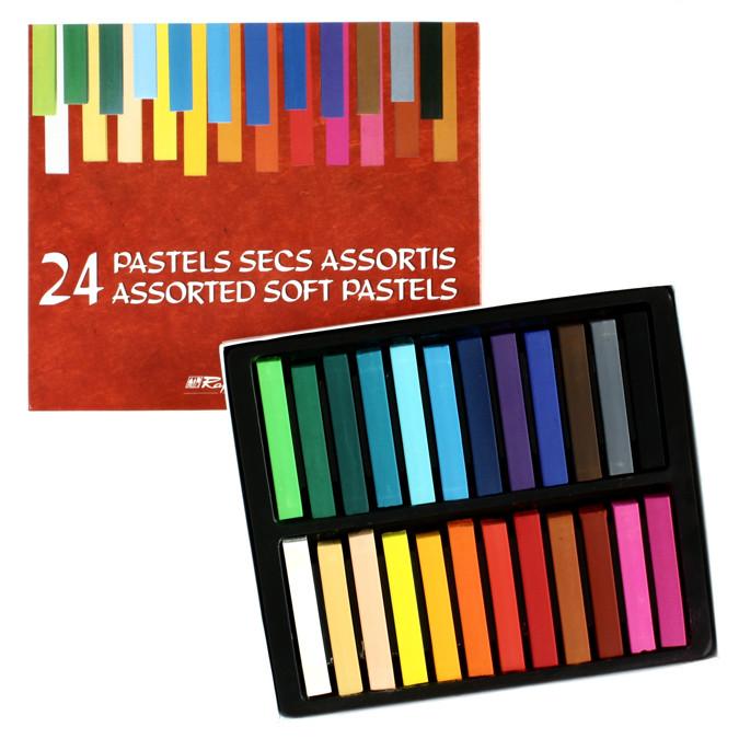 Boîte de 24 pastels secs Campus