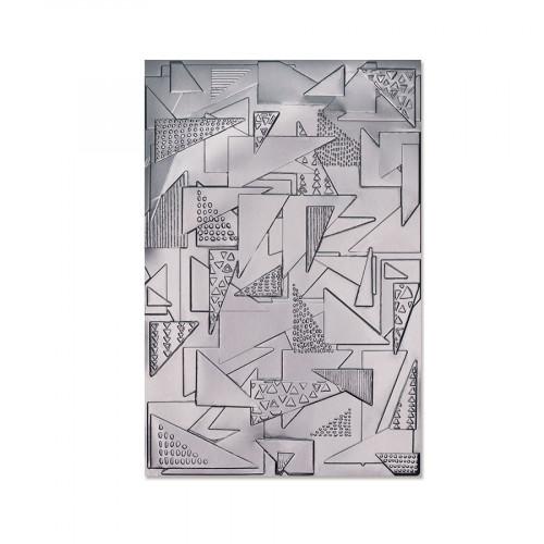 Classeur de gaufrage Triangles Doodle