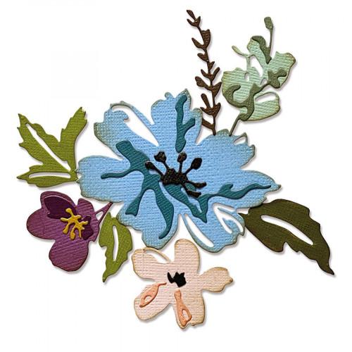 Thinlits Die Set Fleurs #2 - 8 pcs