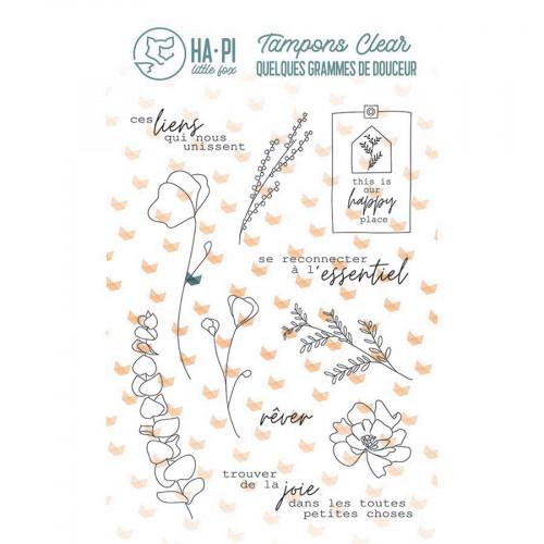 Tampons transparents L'essentiel - 11 pcs
