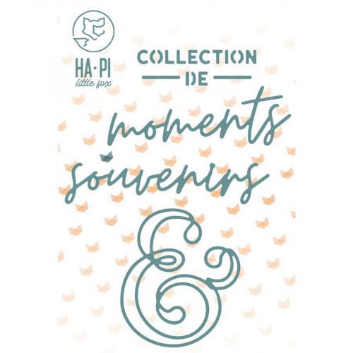 Die Set Collection de souvenirs - 4 pcs