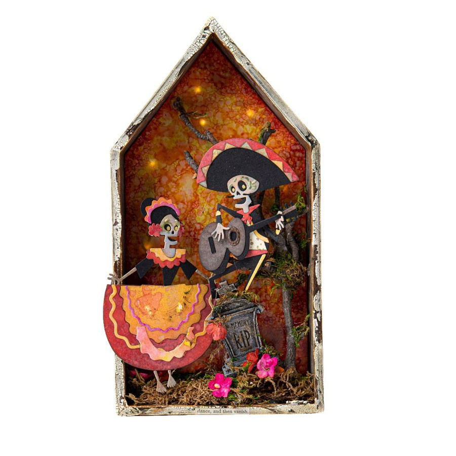 Thinlits Die Set Colorize Day of the Dead - 21 pcs