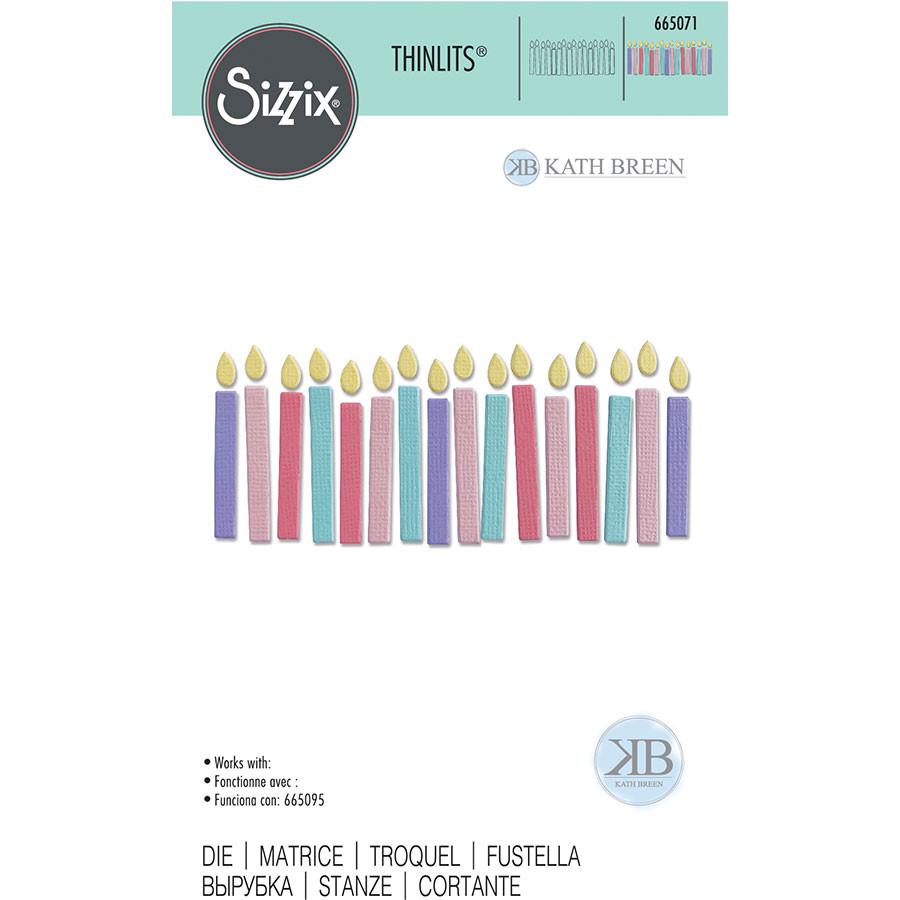 Thinlits Die Bougies d'anniversaire