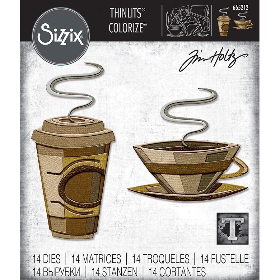 Thinlits Die Set Colorize Café - 14 pcs