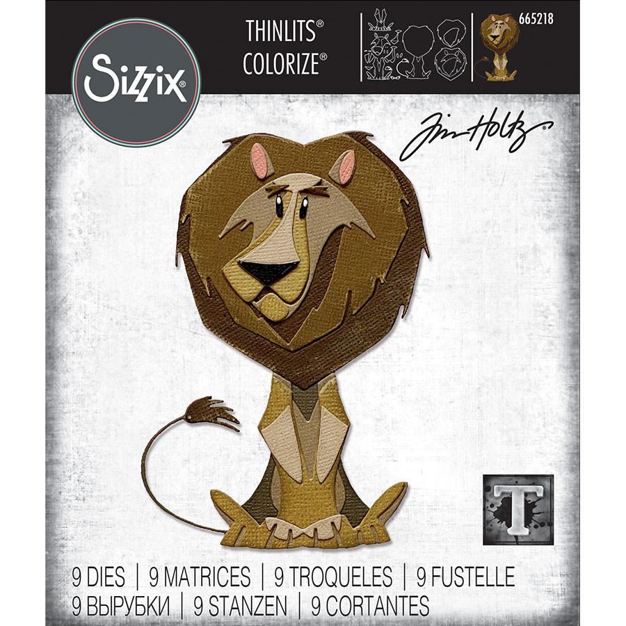 Thinlits Die Set Colorize Lion Harrison - 9 pcs