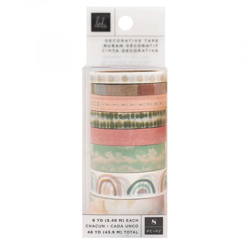 Care Free Washi Tape 8 rouleaux