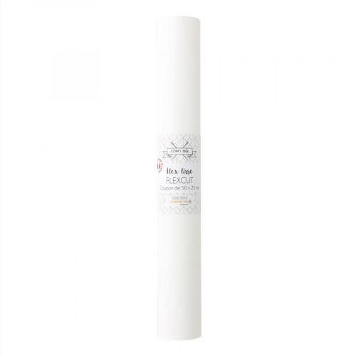 Flex thermocollant Flexcut 50 x 25 cm blanc