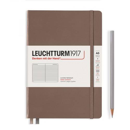 Carnet de notes souple 14,5 x 21 cm - warm earth / pages lignées