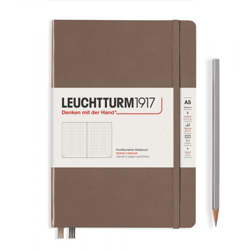 Carnet de notes souple 14,5 x 21 cm - warm earth / pages pointillées
