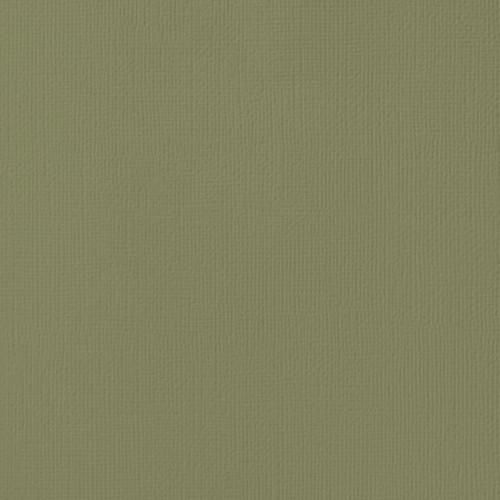 Papier cardstock Weave Olive