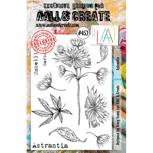 Tampons transparents #452 Astrantia