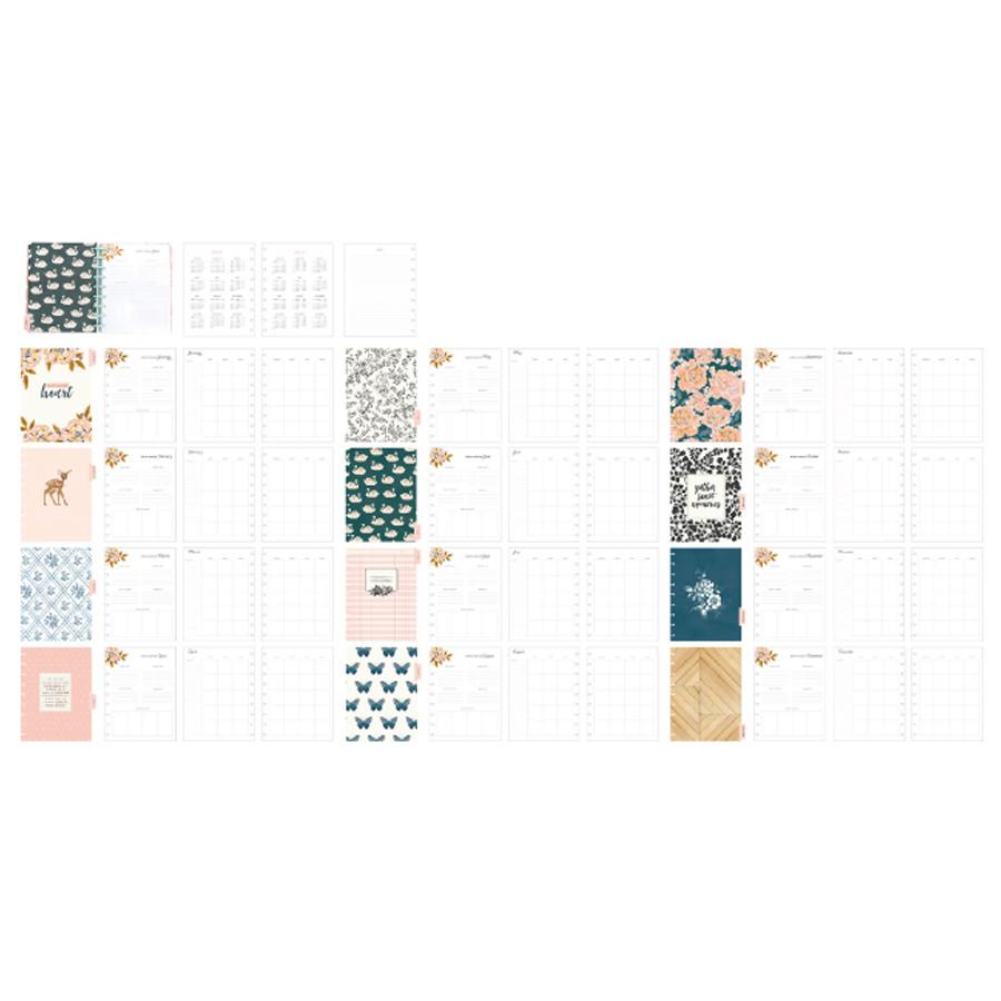 Planner à disques Daydream 19 x 24 cm