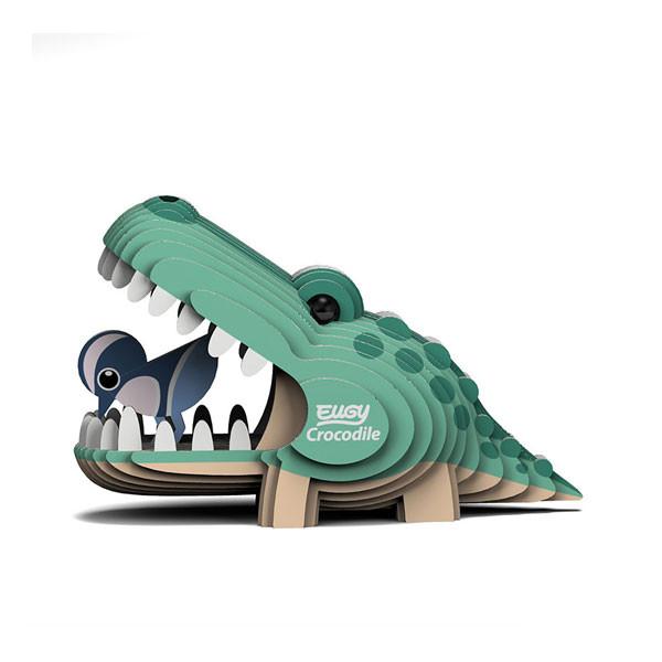 Eugy 3D crocodile
