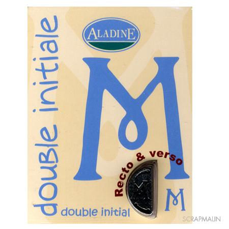 Double initiale - M