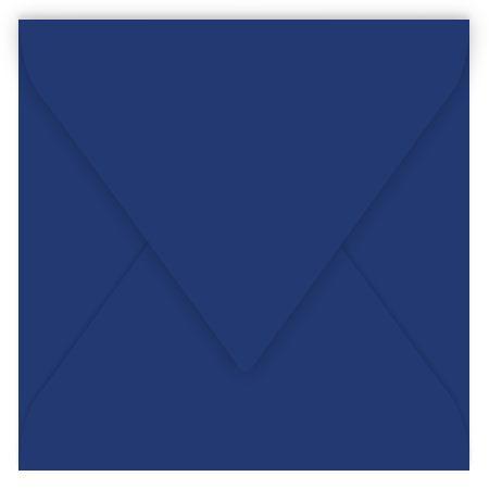 Pollen - 20 enveloppes carrées 14 x 14 cm - Bleu nuit