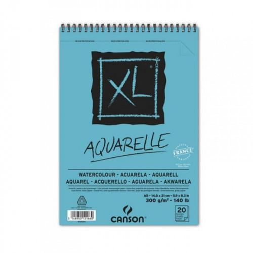 Papier aquarelle - 300 g/m² - A5 - 20 feuilles