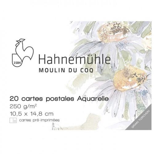 Papier aquarelle - 250 g/m² - 10,5 x 14,8 cm