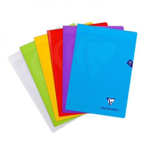 Cahier avec couverture en polypropylène - A4 - 96 p